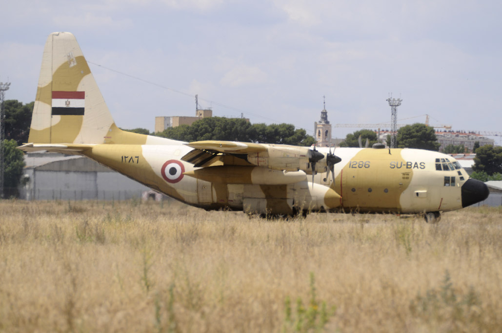C-130 de la Fuerza Aérea de Egipto