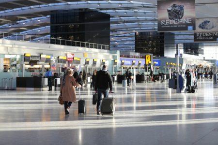 Terminal 5 del aeropuerto de Londres Heathrow, principal punto de operación de British Airways.