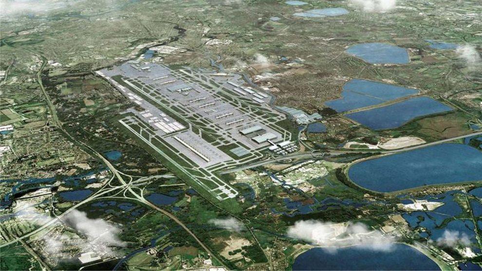 Así será el aeropuerto de Heathrow dentro de unos diez años.