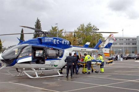 Los helicópteros sanitarios podrían quedarse en tierra a partir del 28 de octubre