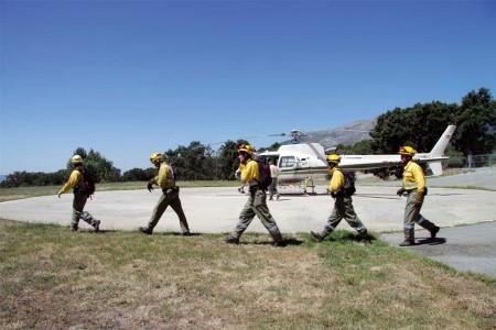 Menos helicópteros en 2012 para la lucha contraincendios