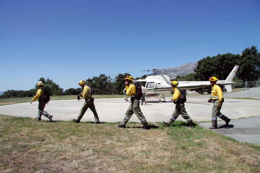 Este año participarán 266 medios aéreos en la campaña de extinción de incendios