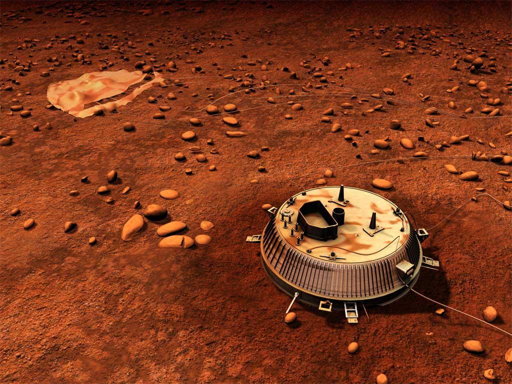 hace diez años que Huygens aterrizó sobre la superficie de Titán, la luna de Saturno