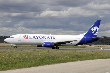 Boeing 737-400F de Layonair