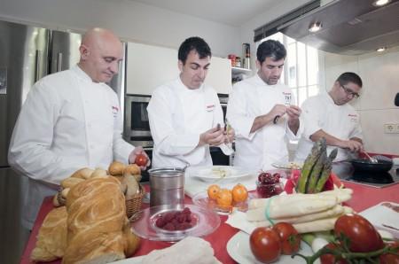 Los cuatro chef de Iberia