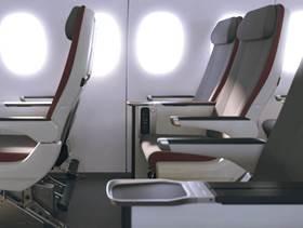 Iberia ha puesto a la venta su nueva clase turista premium para el largo radio.