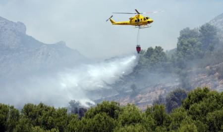 Inaer desplegará 76 medios aéreos en la actual campaña contraincendios