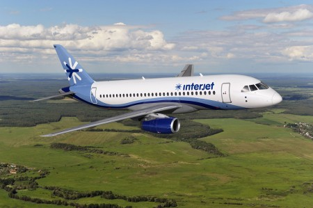 Interjet de México ha adquirido 15 Sukhoi SuperJet 100