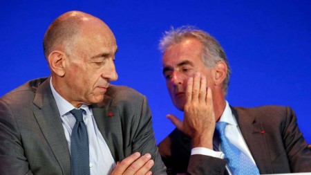 Jean Marc Janaillac (izquierda) y Frederic Gagey.
