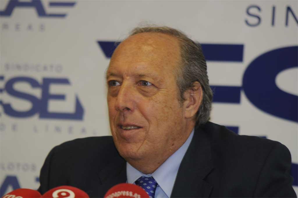 Justo Peral, hasta ahora jefe sección sindical Sepla Iberia