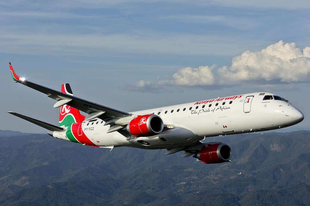 E190 de Kenya Airways