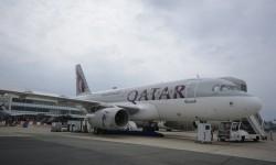 Airbus A319 de Qatar Airways en versión ejecutiva.
