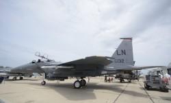 Todo un clásico en Le Bourget, el F-15