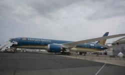 Novedad en el salón, el Boeing 787-9.
