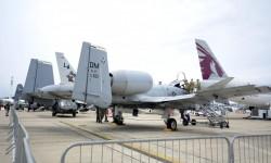 """El Pentágono llevó varias aeronaves de """"última generación"""" como el A-10."""