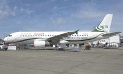El Airbus A320 demostrador tecnológico de rodaje eléctrico.