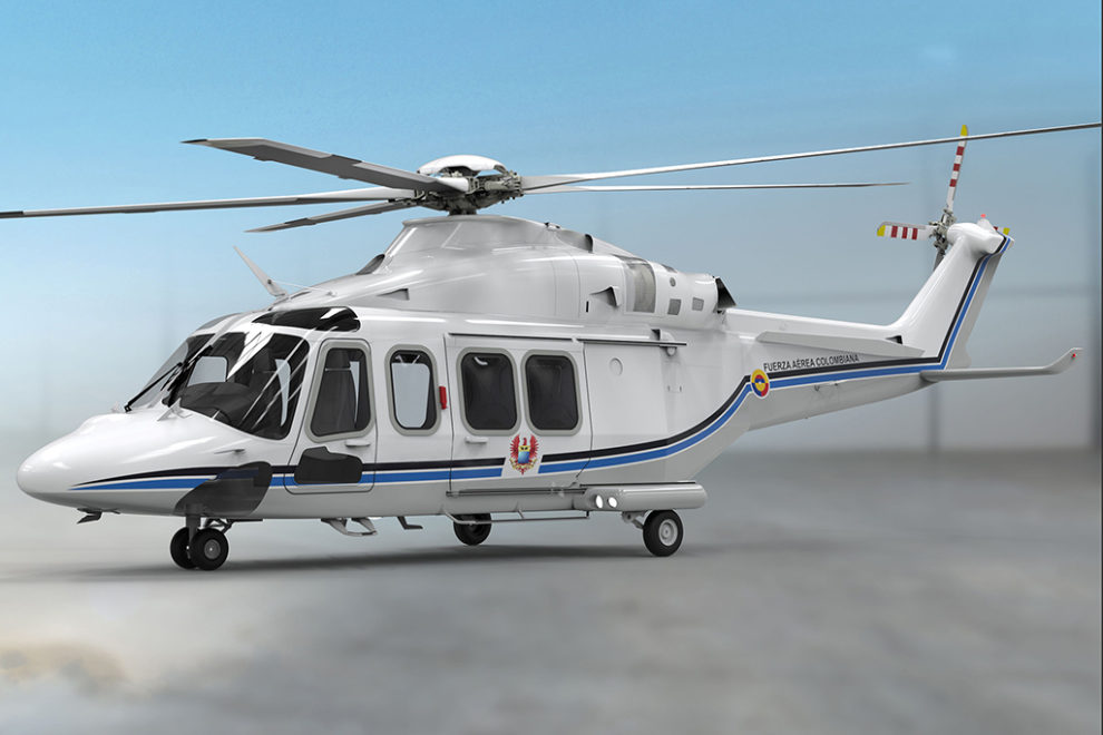 leonardo AW139 Colombia
