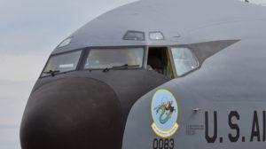 Limpiaparabrisas del Boeing KC-135.