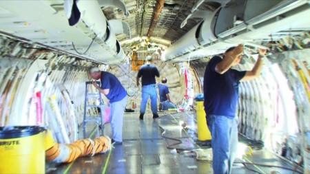 La propuesta española seleccionada para el BizLab podría suponer importantes ahorros económicos en el mantenimiento de aeronaves.