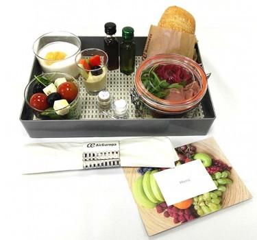 Los nuevos nuevos menús ecológicos y sostenibles para las rutas europeas de Air Europa ganan en los premios Onboard Hospitality