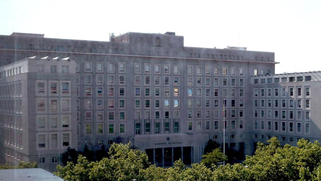 Sede del ministerio de Defensa de España en Madrid.