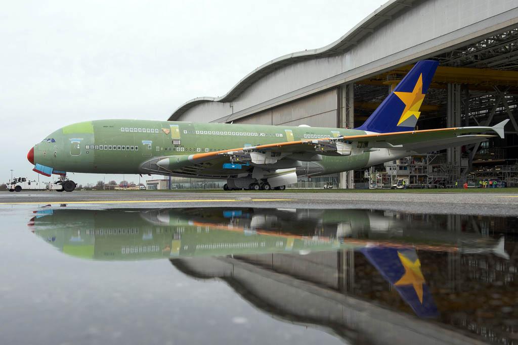 Primer Airbus A380 de Skymark
