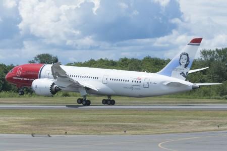 Primer Boeing 787 de Norwegian