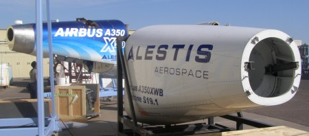 Alestis entrega los primeros prototipos del A350 XWB