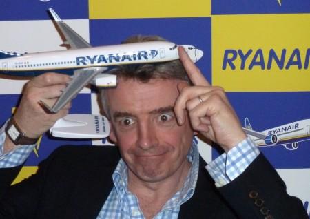Michael O'Leary, presidente de Ryanair