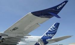 El nuevo winglet cimitar del Airbus A380Plus