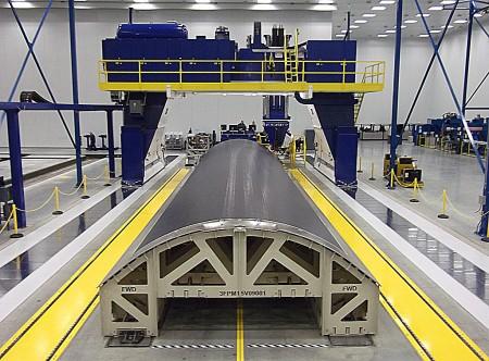 Primera pieza para el Airbus A350 XWB producida en Estados Unidos