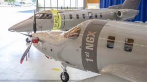 Entrega a Jetfly de sus dos nuevos aviones Pilatus.