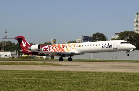 Cosmo Airlines ha comprado parte de los CRJ900 de Pluna, que cerró el pasado 5 de julio