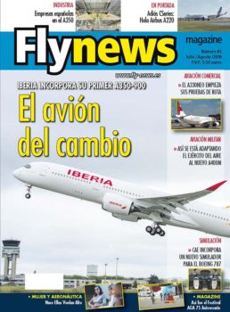 Iberia y su nuevo Airbus A350 protagonizan nuestra portada de este mes.