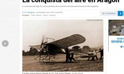 Un artículo sobre la aviación en Aragón gana este año el premio de periodismo aeronáutico de Aviación Digital.