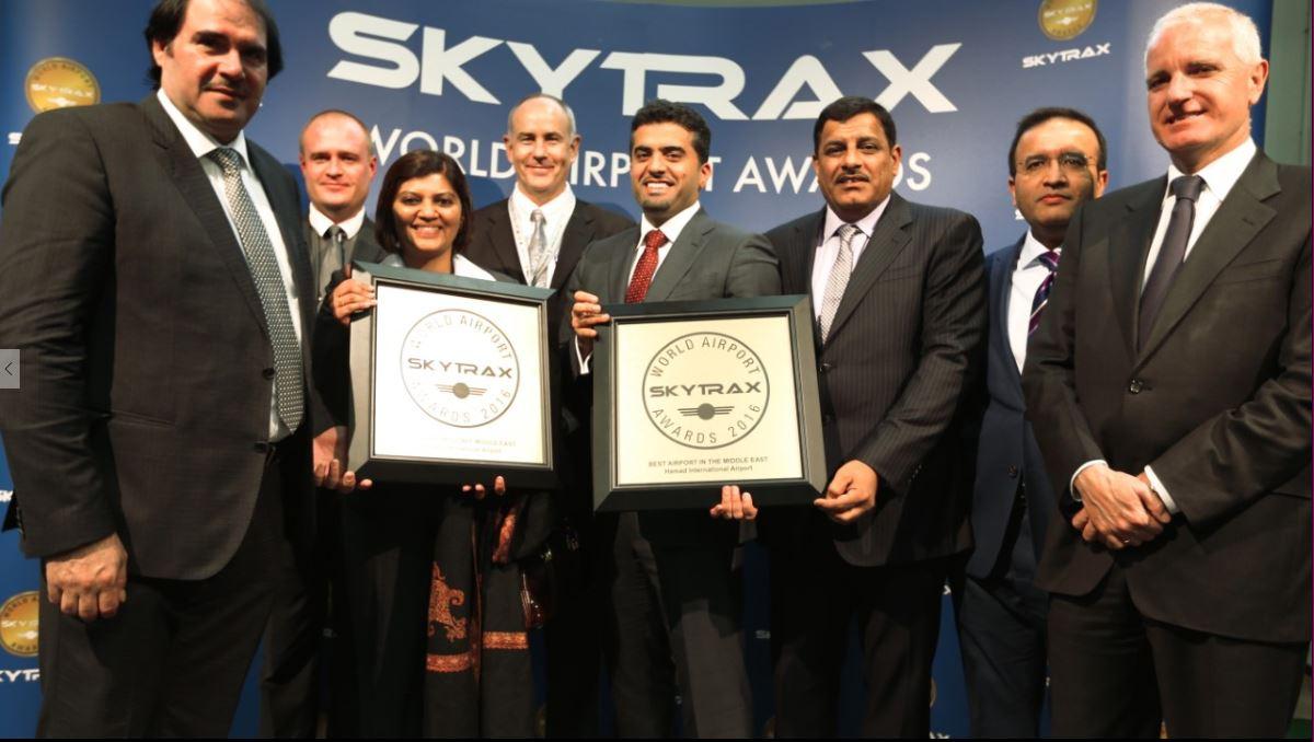 premio Entrega de premio Skytraz World Airport Awards 2016