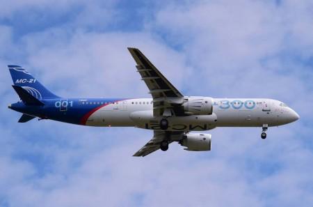 El astronauta ruso Oleg Kononenko fue el piloto a los mandos del MC21 en su vuelo inaugural.
