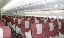 La clase turista, pese a sus muchos asientos no resulta agobiante.
