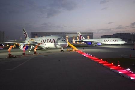 Entrega a Qatar Airways de su primer Airbus A380