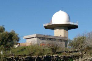 Instalaciones del nuevo radar de Enaire en Cancho Blanco.