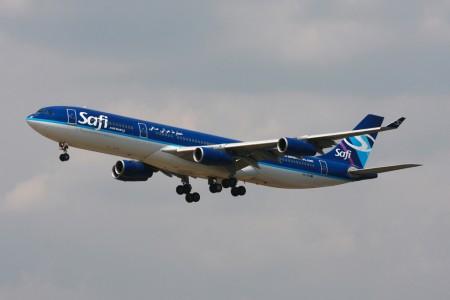 Airbus A340 de Safi Airways