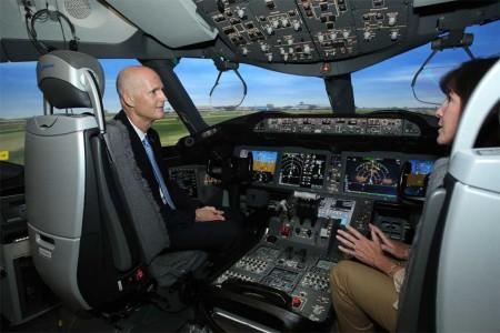 El centro de instrucción de Boeing en Miami cuenta ya con dos simuladores de B-787