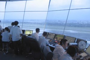 Simulador de torre de control desarrolado por Indra Sistemas.