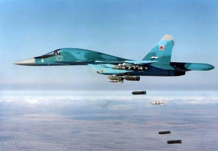 La Fuerza Aérea rusa ha recibido 127 Su-34.