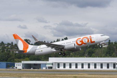 Los vuelos de los Boeing 737 MAX de Gol de Brasilia a Orlando serán los más largos programados con este modelo con algo más de 7.000 km.