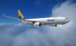 Tampa será la primera aerolínea de Latinoamérica en contar con el A330 en versión de carga