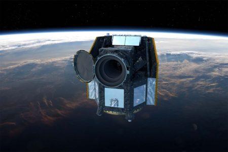 Aspecto que ofrecerá CHEOPS una vez en órbita examinando estrellas y sus planetas.