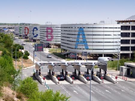 Aparcamientos en la T4 del aeropuerto Adolfo Surez Madrid Barajas