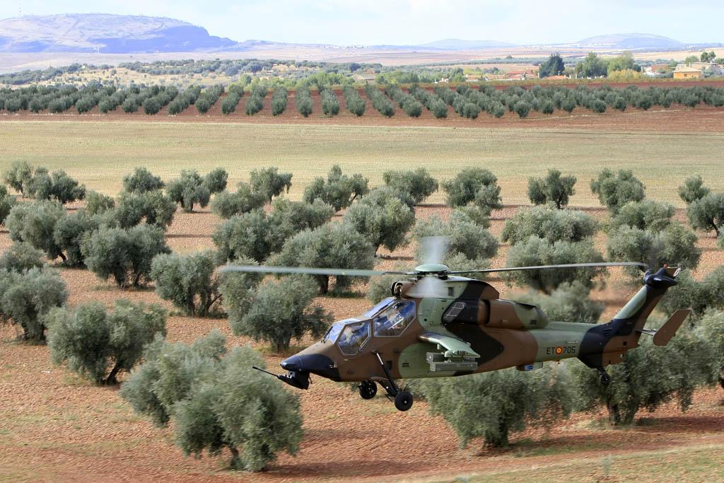 La factoría de Airbus Helicopters en Albacete produce los Tigre, EC135 y NH90 para el ejército español.