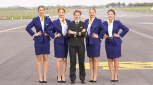 Tripulación de Ryanair.